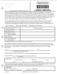 Request for Confidential Communications Form - Lucile Packard ...