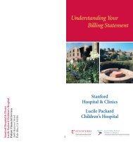 Understanding Your Billing Statement - Lucile Packard Children's ...