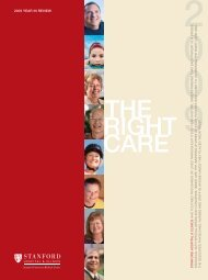 the right care - Stanford Hospital & Clinics
