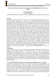 an analytical study of al-ghazali's contribution to usul al-fiqh - journal ...