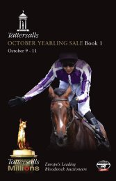 October Yearling Sale Book 1 - Tattersalls