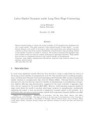 Labor Market Dynamics under Long-Term Wage Contracting