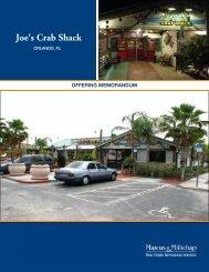Joe's Crab Shack - Nisbet Group