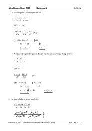 Lösungen AP 2012 1. Serie