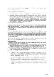 INFORMATIVA OnLine - Deutsche Bank SpA