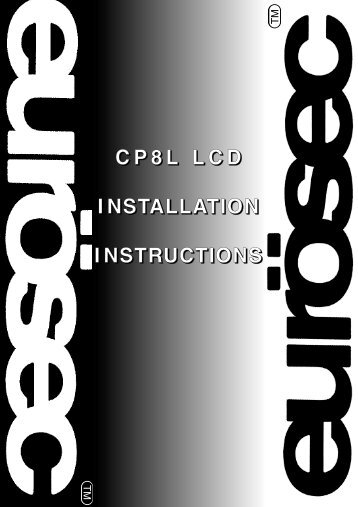 eurosec installation manu rh yumpu com eurosec user manual