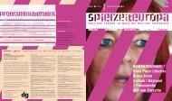 Ausgabe drei - Berliner Festspiele