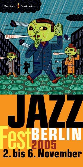 JazzFest Berlin Programm - Berliner Festspiele
