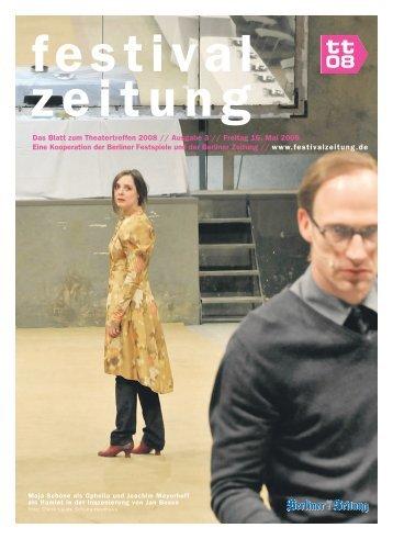 Nr. 3 - Berliner Festspiele