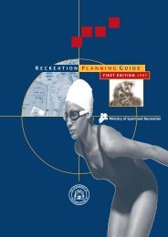 Recreation Planning Guide - Australian Sports Commission