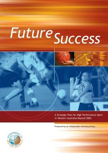 A Strategic Plan for High Performance Sport in Western Australia ...