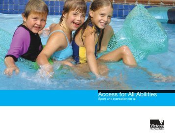 Access for All Abilities - Australian Sports Commission