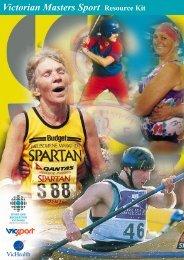 Victorian Masters Sport Resource Kit - Australian Sports Commission