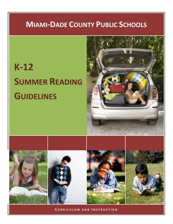 SUMMER READING GUIDELINES - North Miami Beach Senior High ...