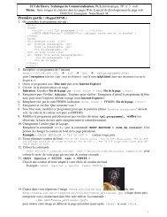 Première partie : (Rappel HTML) - Index of - Free