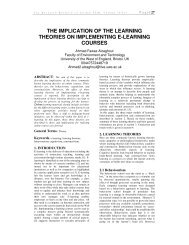 the implication of the learning theories on implementing e-learning