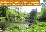 Intelligent mobil statt mehr Beton und Asphalt - Bund Naturschutz ...