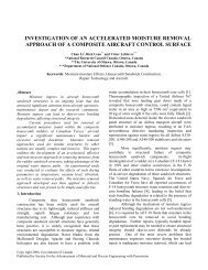 Investigation of an accelerated moisture removal - Université d'Ottawa