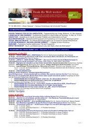 "17.-19. MAI 2012 – ""Vision Campus"" – Campus Griebnitzsee der ..."