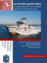 La fonction garde-côtes, - CESM