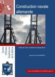 Construction navale allemande - CESM - Ministère de la Défense