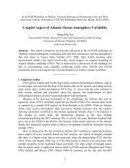 Coupled Aspect of Atlantic Ocean-Atmosphere Variability