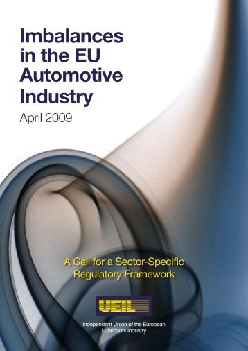 Imbalances in the EU Automotive Industry - UEIL