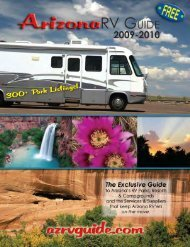300+ Park Listings! - AZ RV Guide