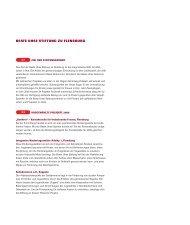 BEATE UHSE STIFTUNG ZU FLENSBURG - Annual Report 2006