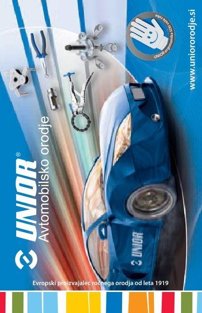 Avtomobilsko orodje - letak - Unior