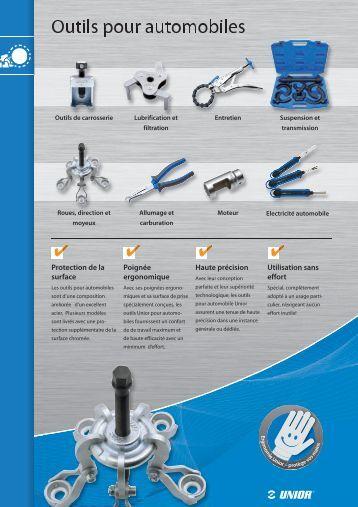 14 Outils pour automobiles - Unior