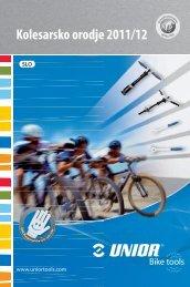 Kolesarsko orodje 2011/12 - Unior