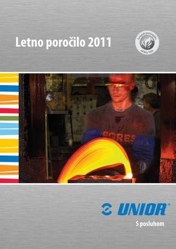 Letno poro?ilo 2011 - Unior