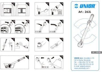 Katalog 263L sprednja stran - Unior