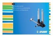 Navodila za uporabo Instructions for Use and Maintenance ... - Unior