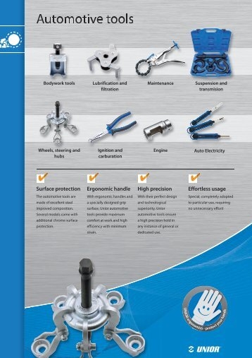 Automotive Tools - Unior