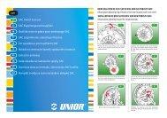 SAC Clutch tool set SAC KupplungswerkzeugSatz Outil de ... - Unior