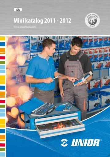 Mini katalog 2011 - 2012 - Unior
