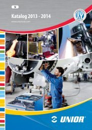 Katalog 2013 - 2014 - Unior