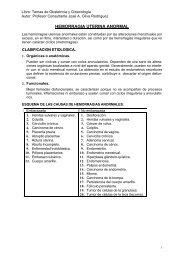 Hemorragia Uterina Anormal - Inicio
