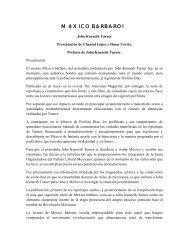México Bárbaro! - Webgarden