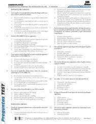 P reguntas TEST - Webgarden