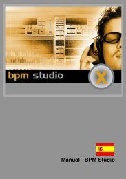 Manual - BPM Studio - Alcatech BPM Studio Schweiz