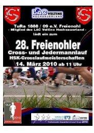 2010 Ausschreibung INET - TuRa Freienohl