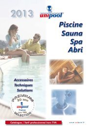 Piscine - Catalogue piscine en kit Unipool piscines et Fitness ...
