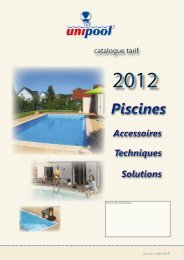 Piscines - Catalogue piscine en kit Unipool piscines et Fitness ...