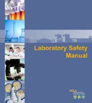 Lab Safety Manual - UCLA - Environment, Health & Safety