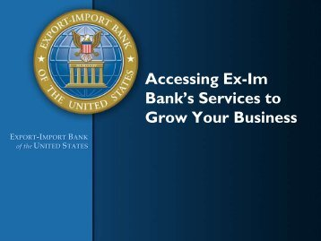 Executive Summary Presentation - Embassy of the United States ...