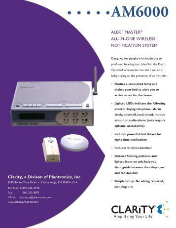 AM6000 - Clarity Products