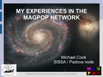 MY EXPERIENCES IN THE MAGPOP NETWORK
